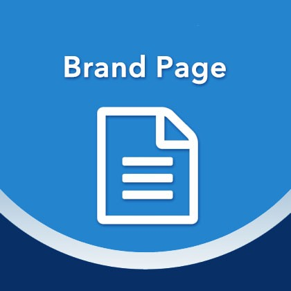 Magento Brand Page Extension